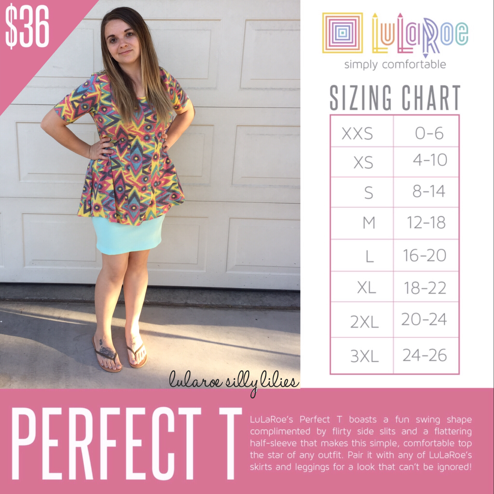 Perfect Tee Https Www Facebook Com Groups Lularoesillylilies Classic T Lularoe Sizing Flattering Tops Lularoe Classic