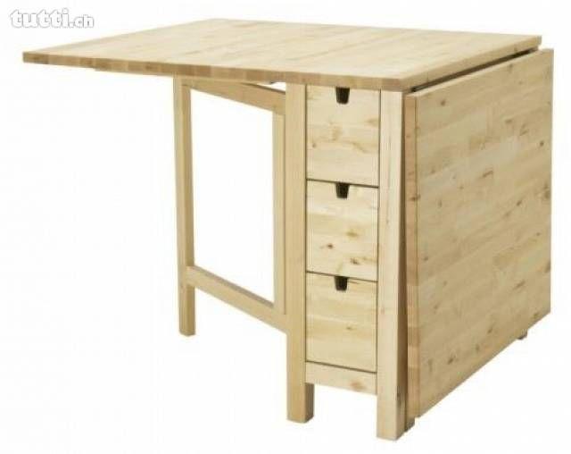 Ausklappbarer Tisch Norden Gateleg Table Ikea Furniture