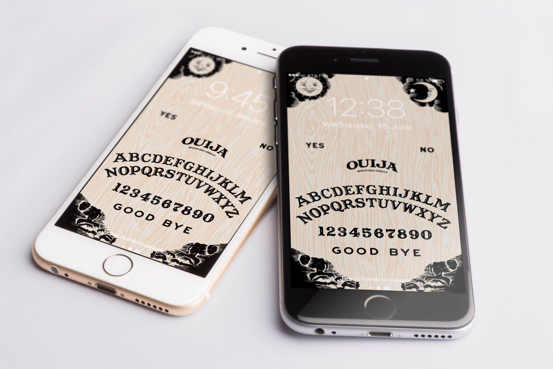 Ouija Lock Screen Wallpaper Looks Sweet Https Www Etsy Com Listing 504892855 Ouija Iphone Background Wallpaper Mobile