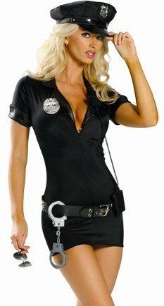 Sensual Disfraz de mujer Policía d929c4d3ce74