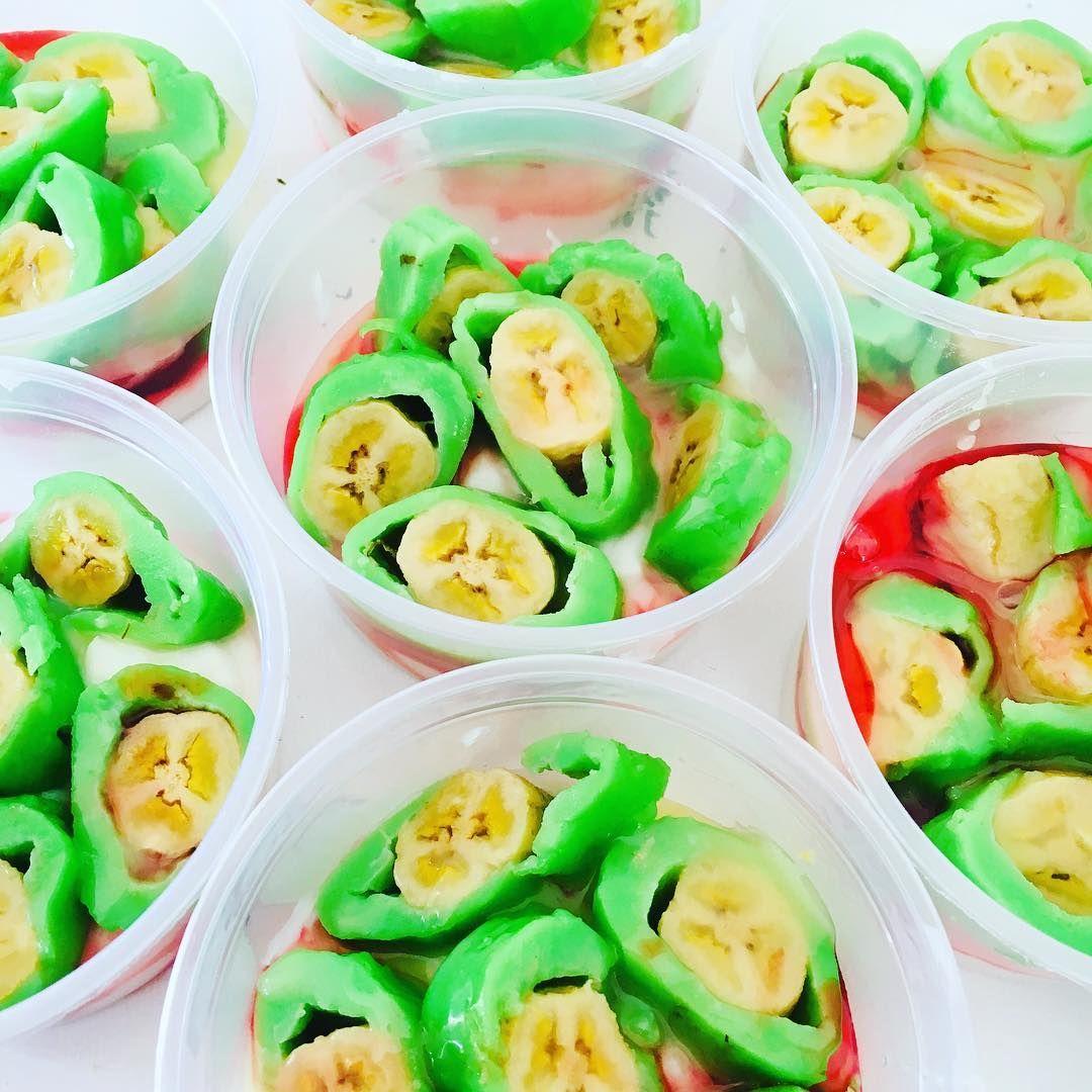 cara bikin bubur sumsum pisang ijo