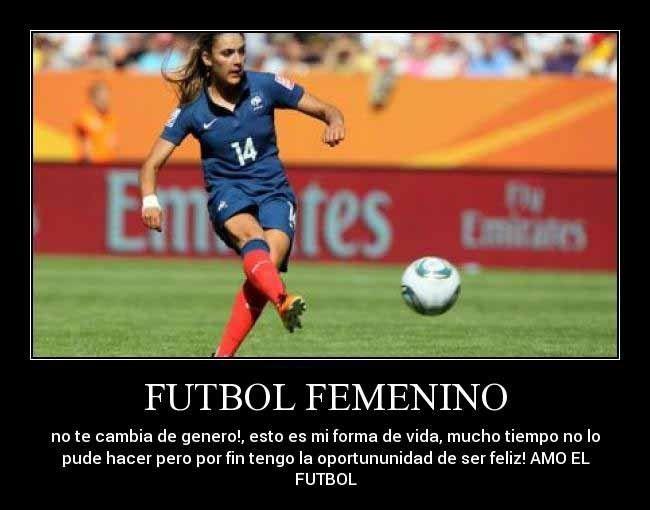 Imagenes De Mujeres Jugando Futbol Con Frases 3