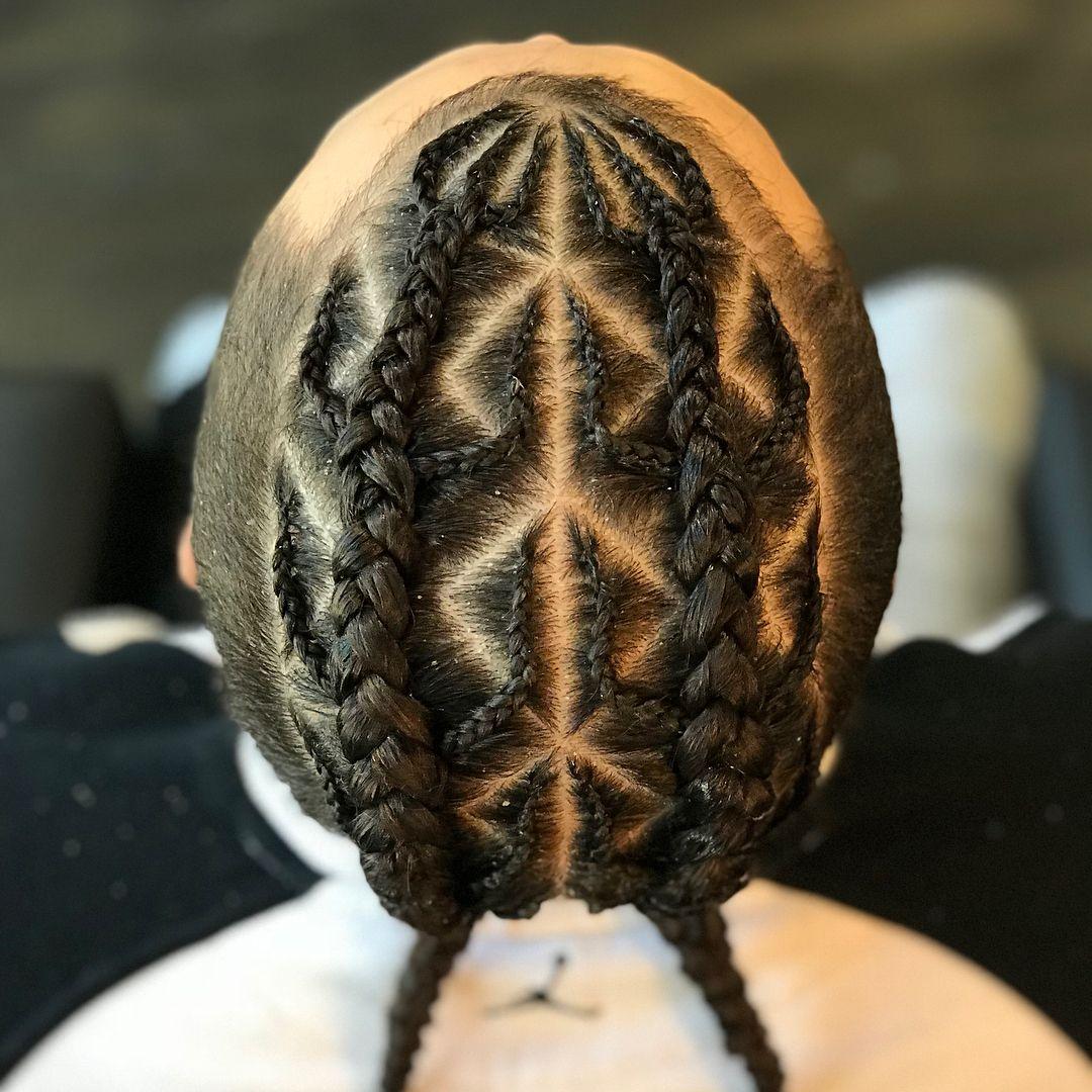 Fire a mohawk braid braids braider manbun manbunbraids