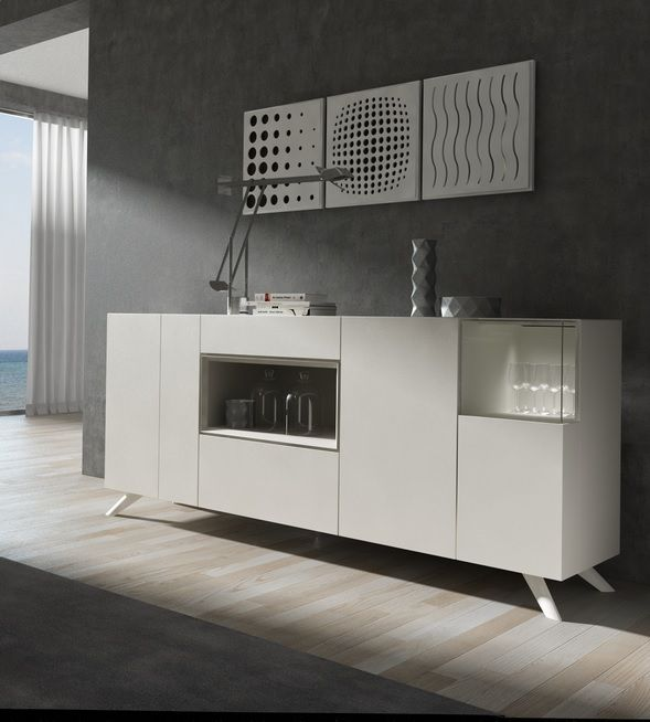 New Ginza sideboard A Brito Pinterest Iron table, Dining - k che sideboard mit arbeitsplatte