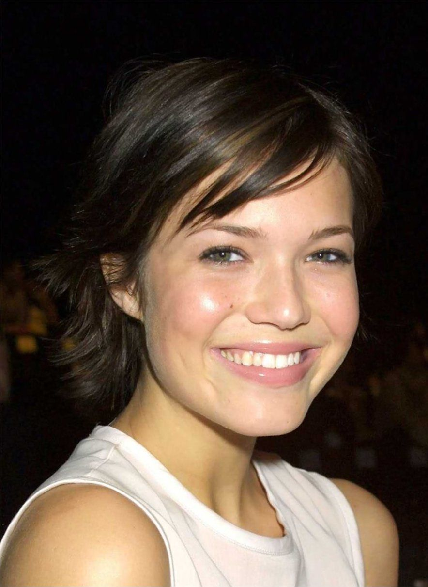 sassy hairstyles featuring mandy moore short hair mandy moore