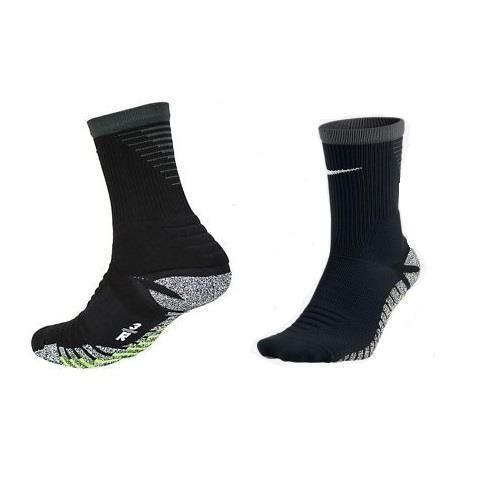 Nike Mens Nikegrip Drifit Strike Black Soccer Crew Sock Sz 14 16 Sx5090 010 Nike Athletic Nike Men Soccer Socks Nike