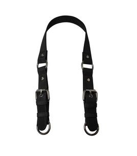 Everything Mary BLK Microfiber SHLDR Strap w/Silver Buckles & Rings & purse making at Joann.com