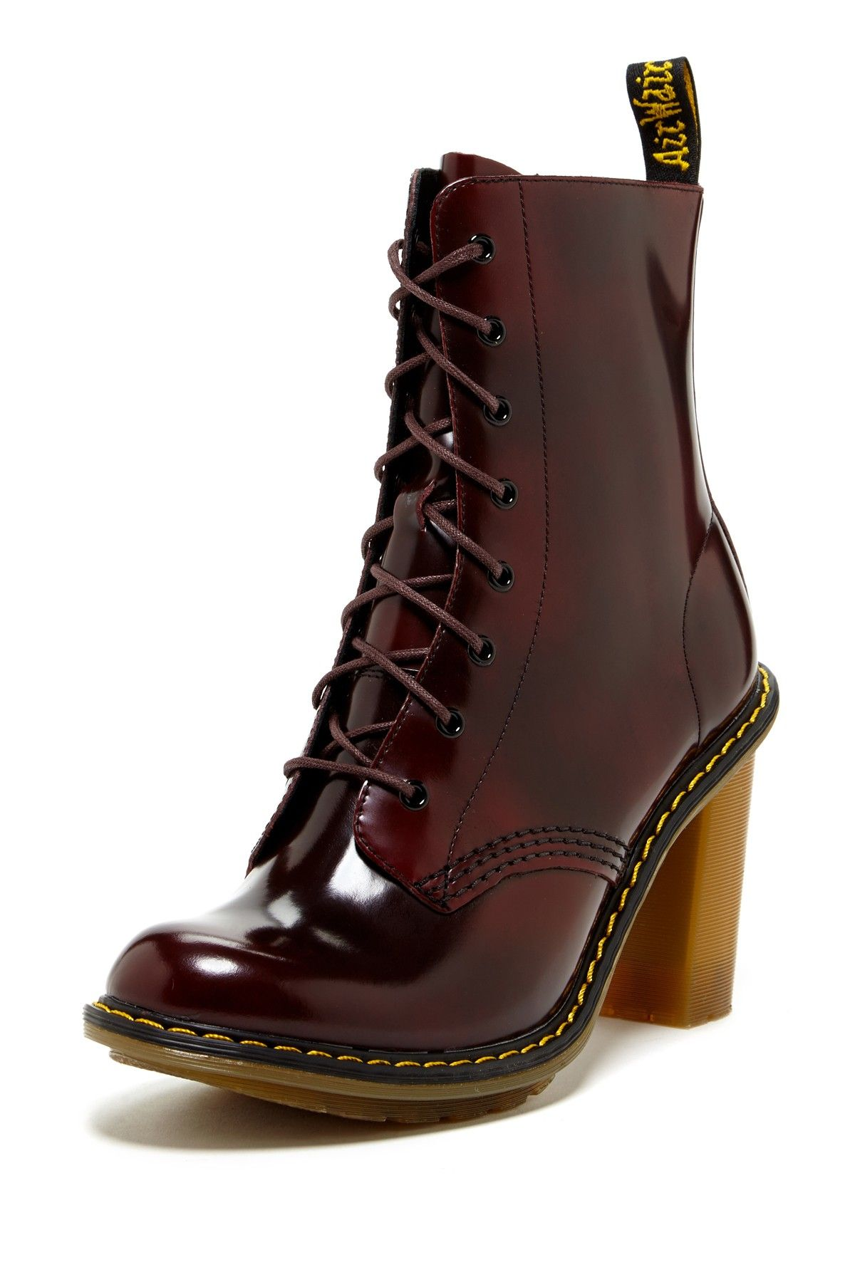 tienda del reino unido comprar popular lujo Dr.+Martens+Sadie+High+Heel+Lace-Up+Boot+by+Dr.+Martens+on+@ ...