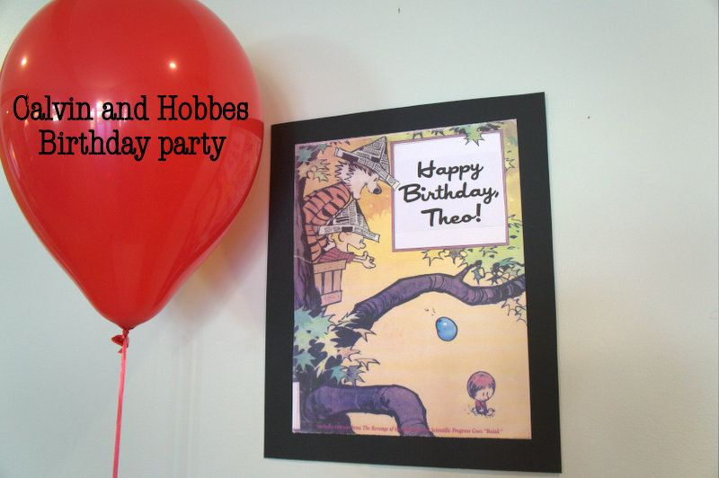 Step one introduce Liam to Calvin Hobbes so he falls in love – Calvin and Hobbes Birthday Cards