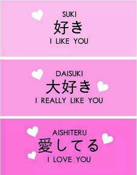 Japanese Japanese Words Pinterest