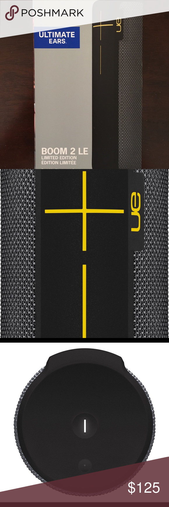 Ue Mega Boom Bluetooth Speaker Brand New Brand New Never Been Used Special Edition Panther Ue Megaboom Other Brand New Things To Sell Ue Megaboom