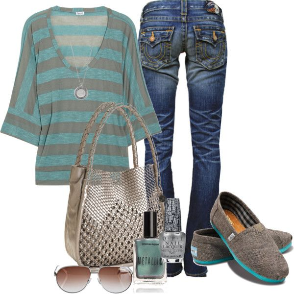 """""""Cute 'N' Casual"""" - I love those casual days when you get up, throw something on, but still manage to look really put together. - Modest Trendy Fashion - By Karlee"""