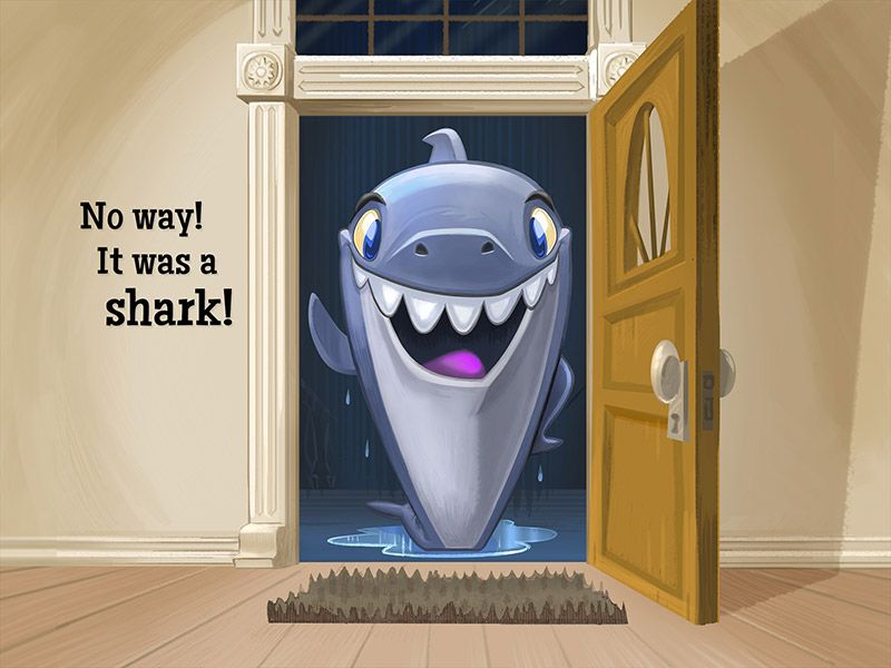 A Shark Knocked On The Door storybook #app from Mighty Yeti Studios features a friendly shark and a fun adventure! ... & A Shark Knocked On The Door storybook #app from Mighty Yeti Studios ...