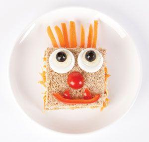 monster brot gesicht liekenurkorn lecker belegte pausenbrote tasty breaktime sandwiches in. Black Bedroom Furniture Sets. Home Design Ideas