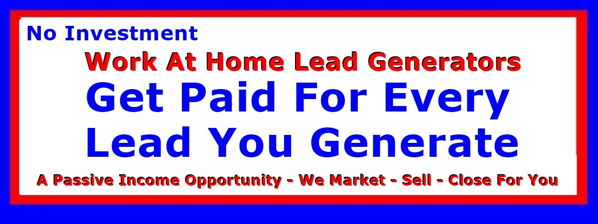 Stop Missing out on Get Paid A Quarter for Every Lead You