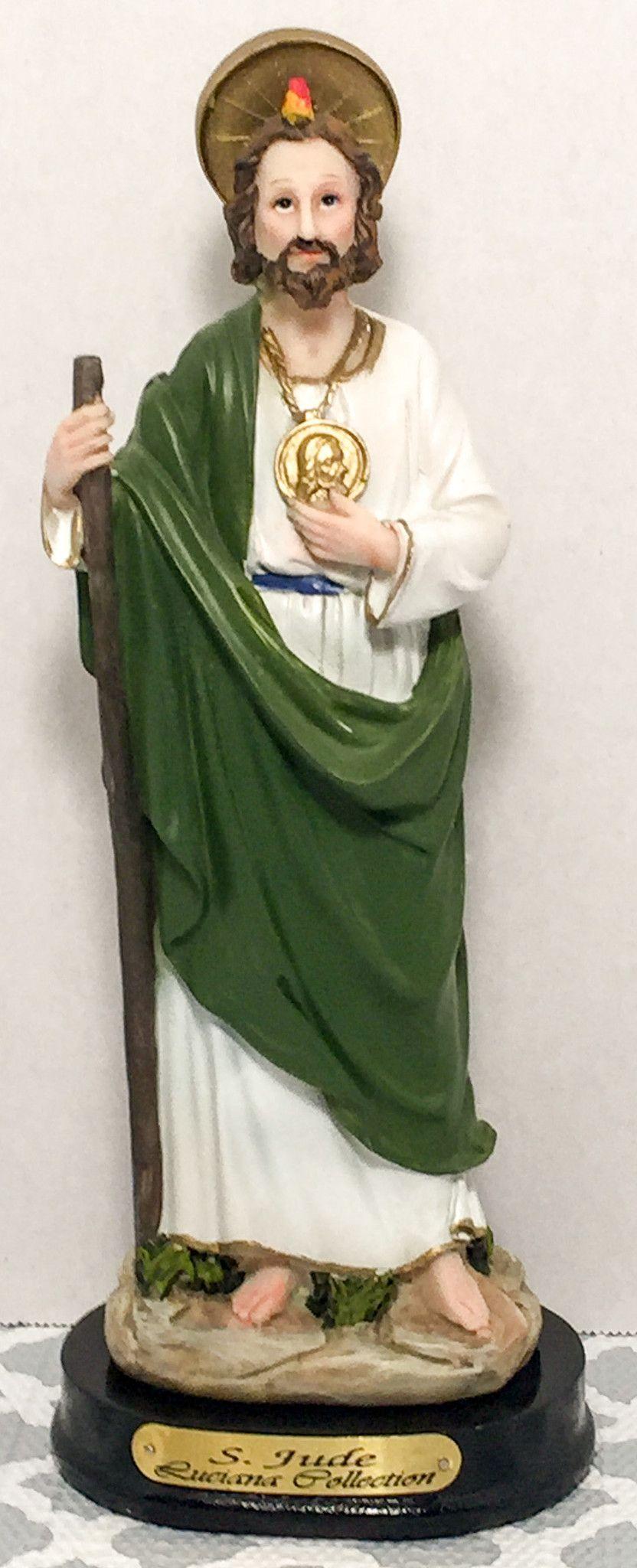 saint jude san judas tadeo statue santos pinterest saints