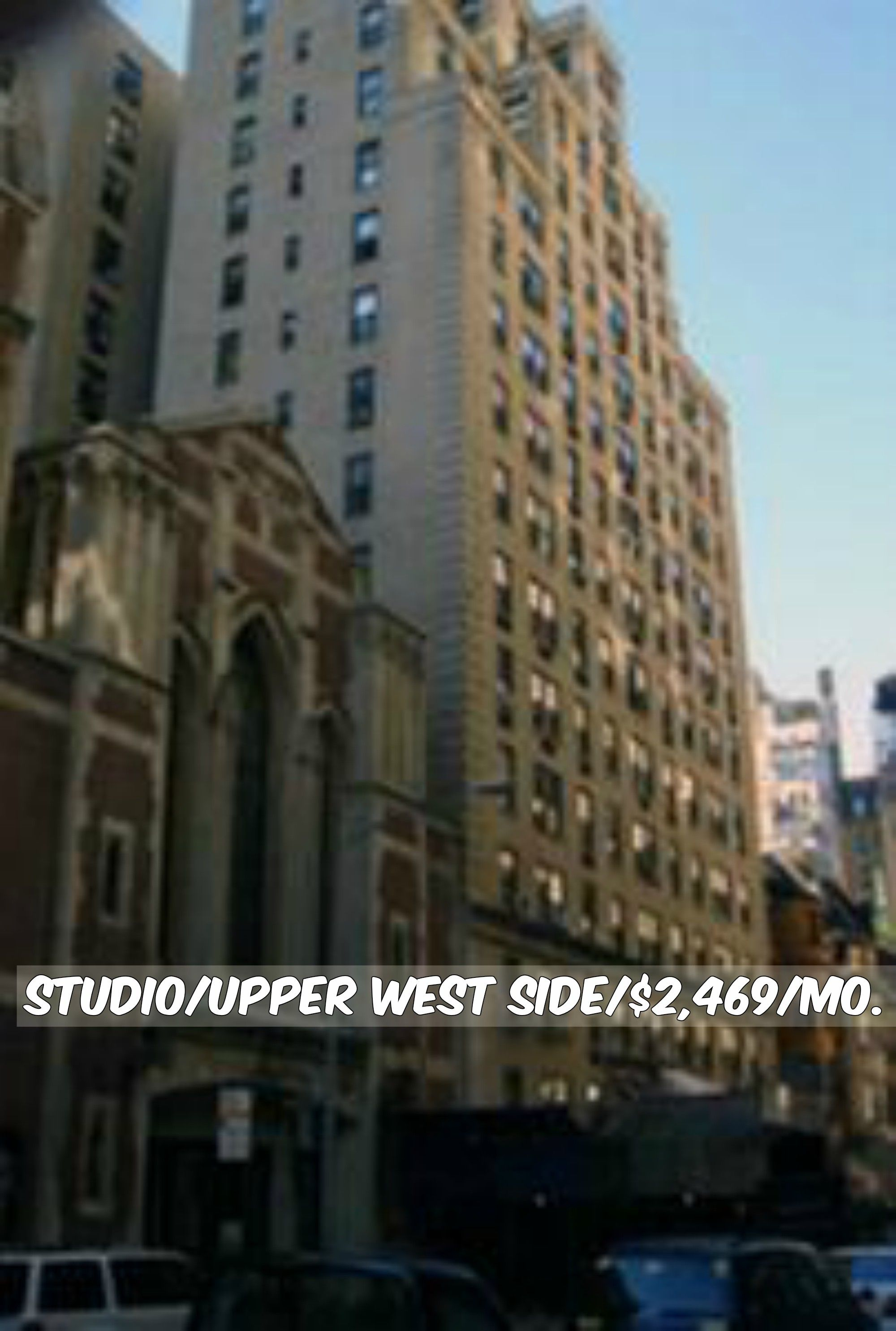 Studio Apt For Rent In Upper West Side At 2 469 Mo Doorman