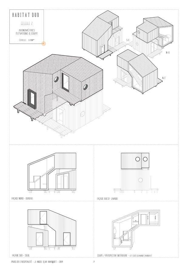 Balise par Judith Angel  Martial Marquet Boîte noire, Projet - Dessiner Un Plan De Maison