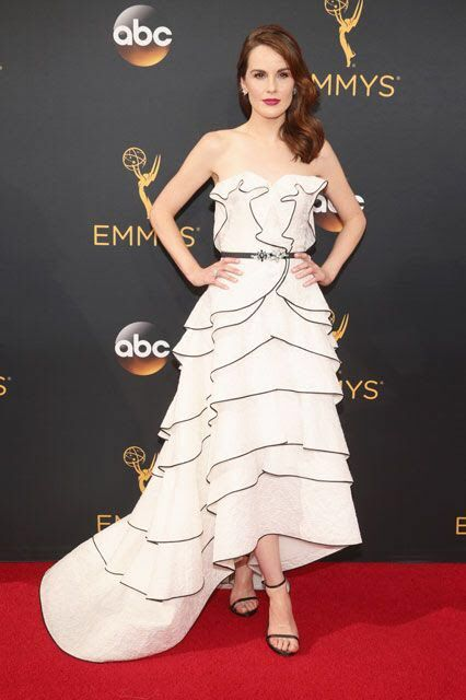 Michelle Dockery at the Emmys