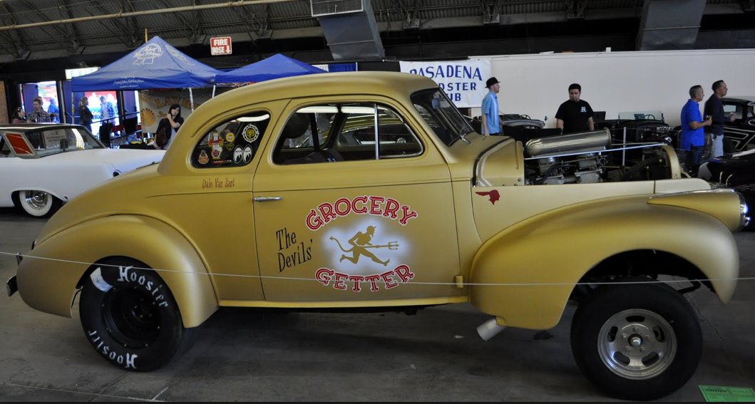 1940 Chevy coupe Gasser | Nostalgia dragracing