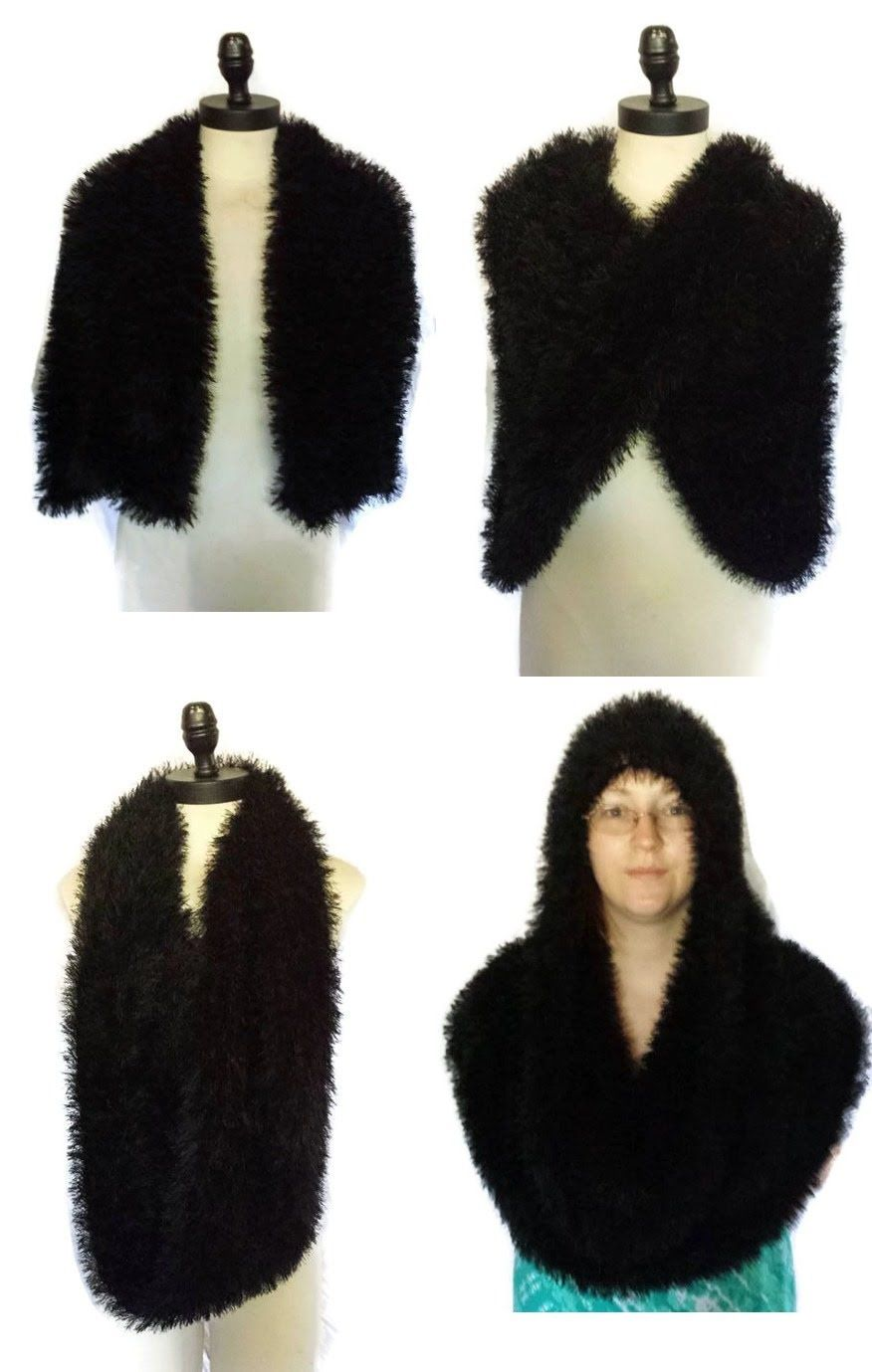 Loom Knit Magic Scarf Beginning to End | Loom Knitting | Pinterest ...