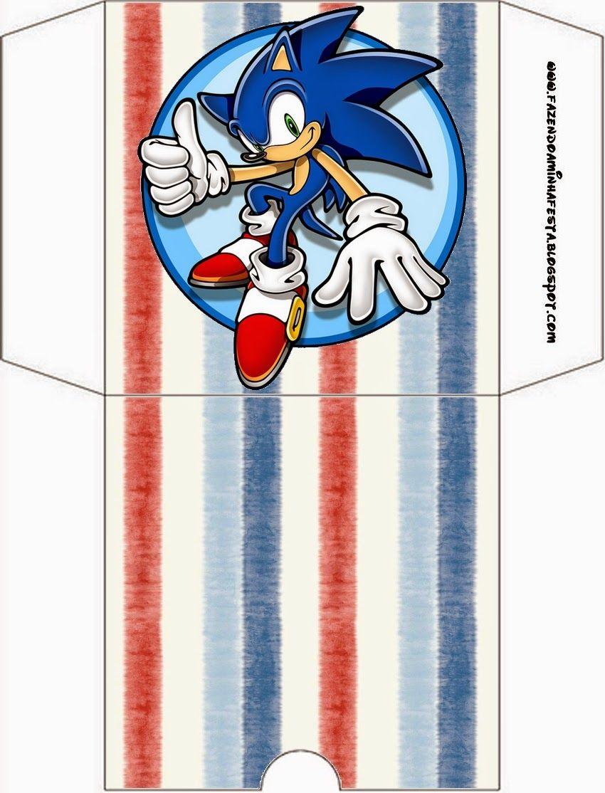 Sonic Etiquetas Candy Bar Para Imprimir Gratis