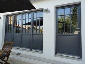 Incroyable Porte En Bois Atelier 3 Vantaux Et 1 Vantail