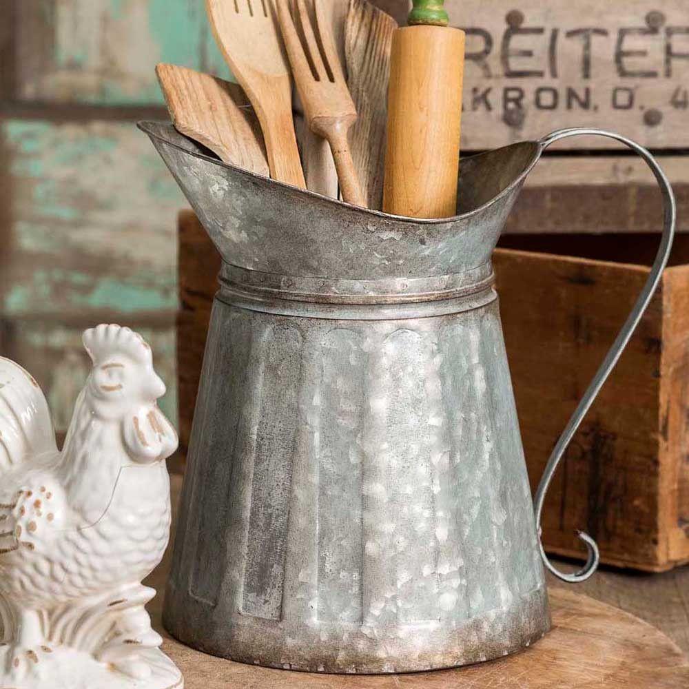 Kerala-stil raumgestaltung metal milk pitcher  free shipping  farmhouse style  country