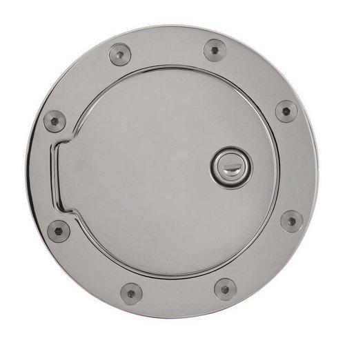 Gas Door Lock Billet Lock Fuel Door For Gas Tank Door Ford F150 Tank Locking Chrome Plating Gmc Trucks Used Car Parts