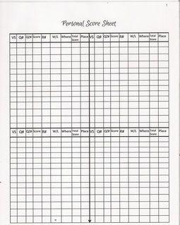 New 2015-2016 Free Printable Score Sheets (Teen Bible