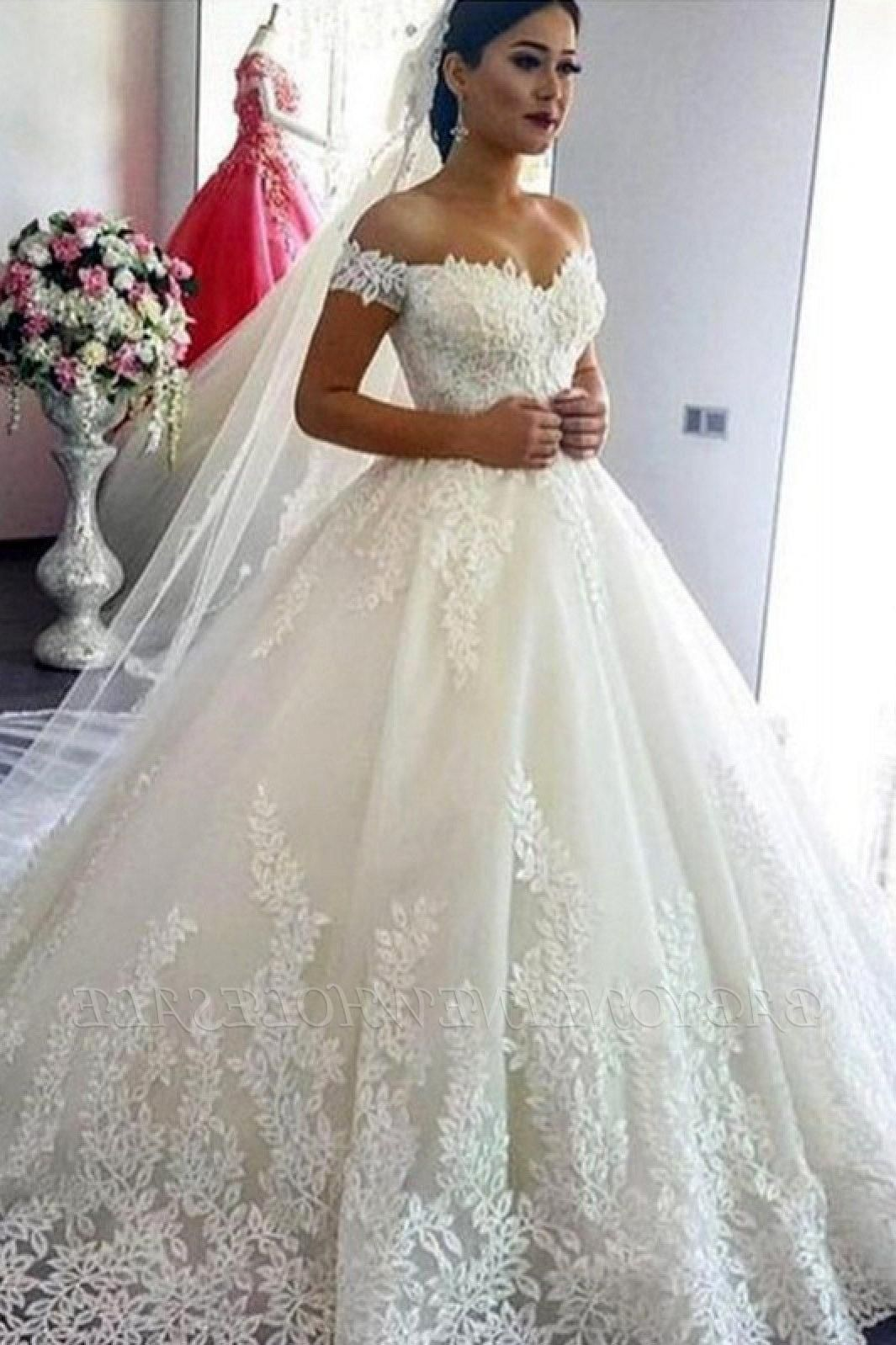 Wedding Dresses Princess Satin Lace Sweetheart Wedding Dress Lace Bridal Gown Ball Gowns [ 1598 x 1065 Pixel ]
