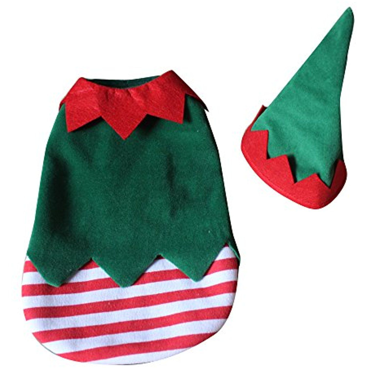 S-Lifeeling Christmas Clown Outfit Dog Costumes Holiday Halloween Pet Clothes Soft Comfortable Dog Clothes ** Read more at the image link. (This is an affiliate link) #DogApparelAccessories