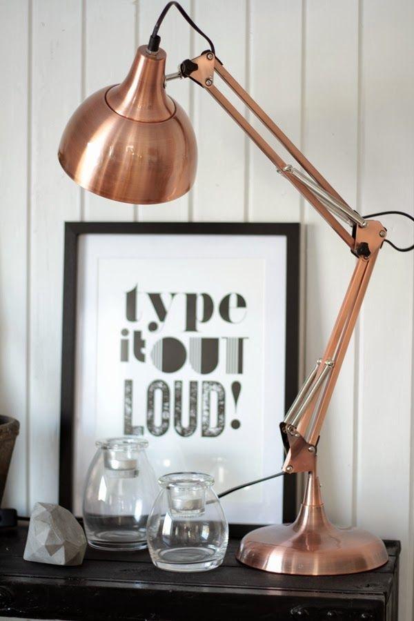 Kobber Love Koperen Verlichting Koperen Lampen Interieur
