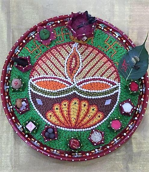 Aarti thali decoration ideas for ganpati decoration rock painting aarti thali decoration ideas for ganpati junglespirit Choice Image