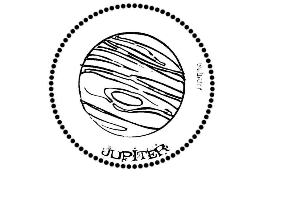 Gunes Sistemi Jupiter Gezegenler Uzayda Yolculuk Okul Oncesi
