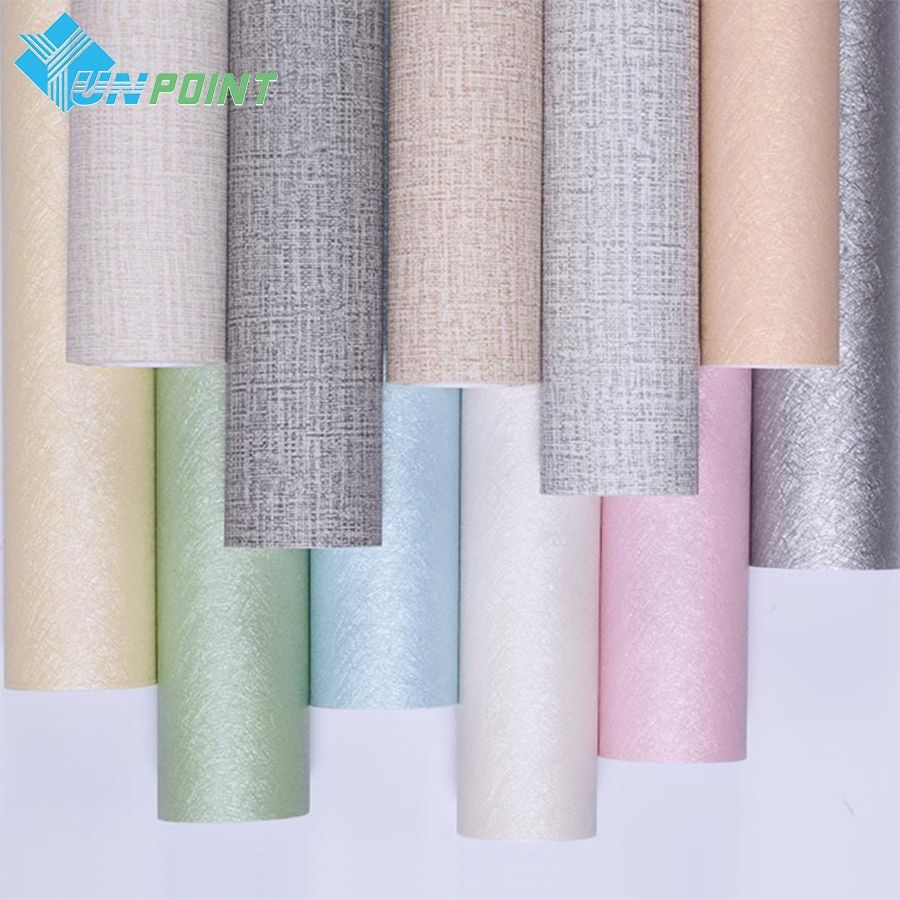 Cheap Self Adhesive Wallpaper Buy Quality Pvc Furniture Directly From China Backdrop Wallpaper Supplier Pvc Furniture Living Room Warm Self Adhesive Wallpaper