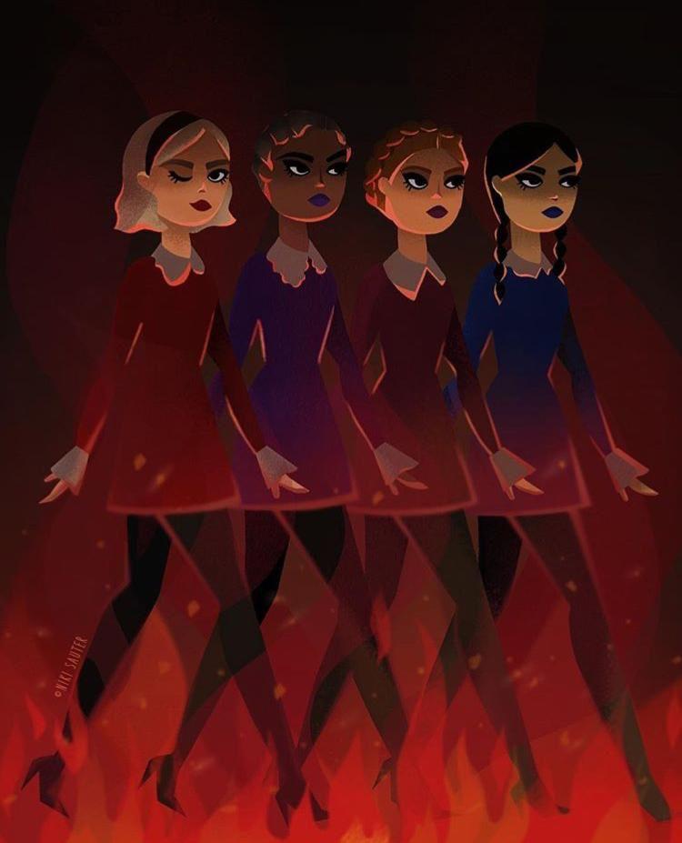 Sabryna Sabrina Witch Weird Sisters Sabrina Spellman