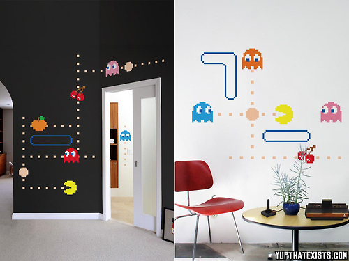 Pac Man wall decals Turn your room into everyones favourite 80s