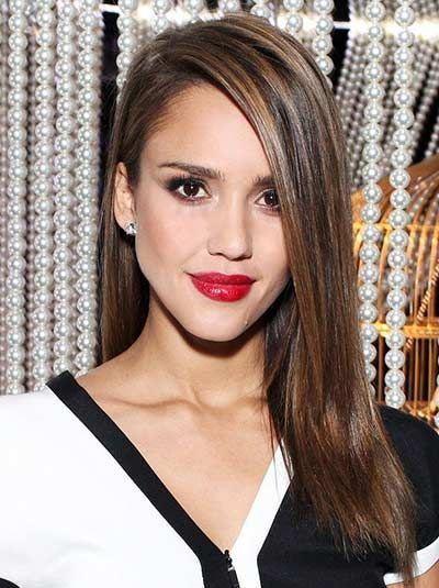 Excellent Choosing The Best Hairstyles For Big Jaw Women Jessica Alba Hair Natural Hairstyles Runnerswayorg