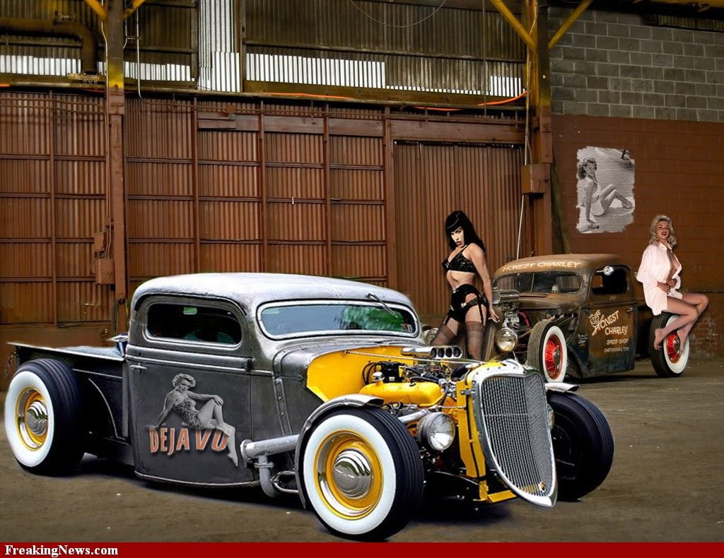 Girls and Hot Rods | Rods & Rockabilly | Pinterest | Rats, Girls and ...