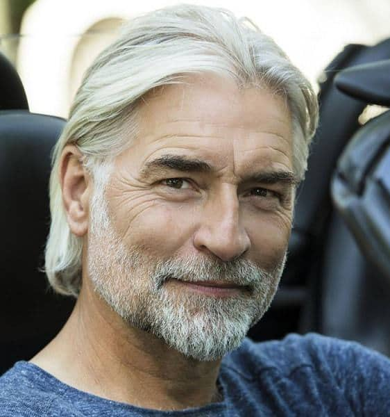 10 Of The Coolest Long Hairstyles For Older Men Older Mens Hairstyles Best Hairstyles For Older Men Older Mens Long Hairstyles