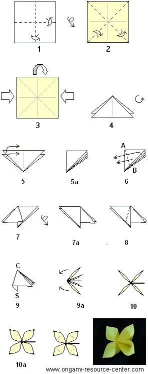 Tulips2 easy origami instructions for kids flowers pertaining to learn how to make an easy buttonhole flower more instructions ot rh com origami flowers pdf mightylinksfo