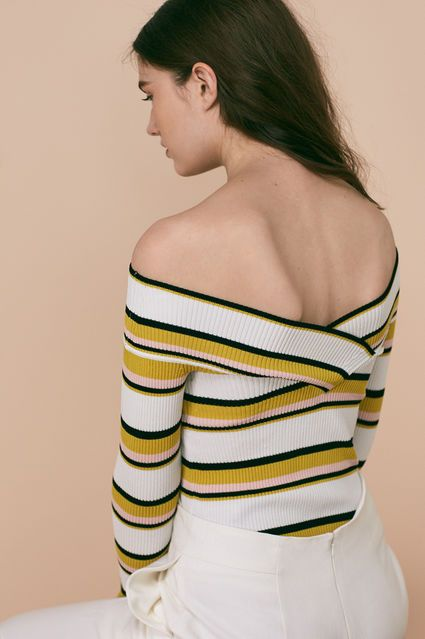 How to wear off the shoulder | WHISTLES