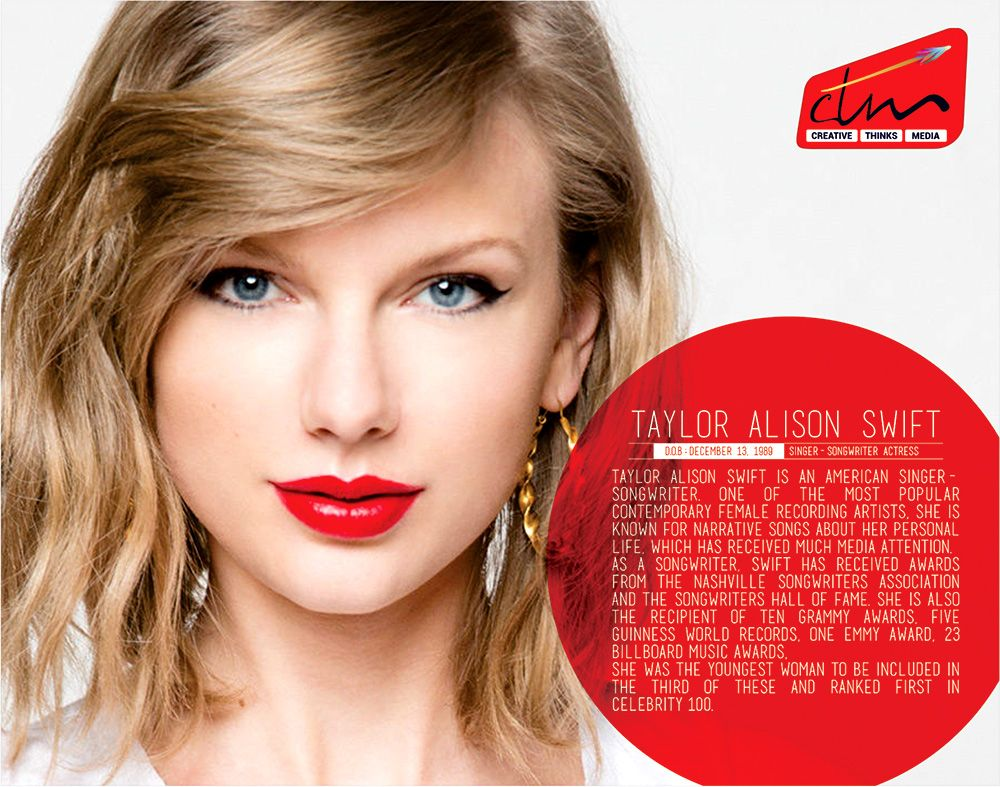 Tayloralisonswift Birthdaywishes Hollywood Singer Songwriter Celebrity Ctm Creativethinksmedia Taylor Swift Taylor Swift Album Taylor Swift Songs