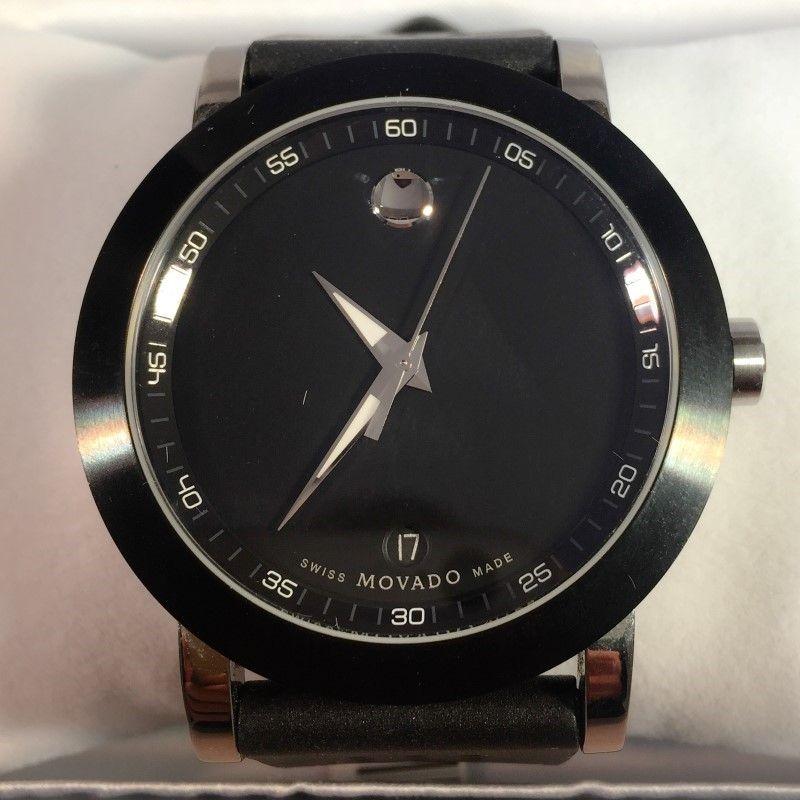 Mens Movado Sapphire Crystal Wristwatch 07 1 14 1145 Mens Fashion Jewelry Wrist Watch Mens Fashion Watches