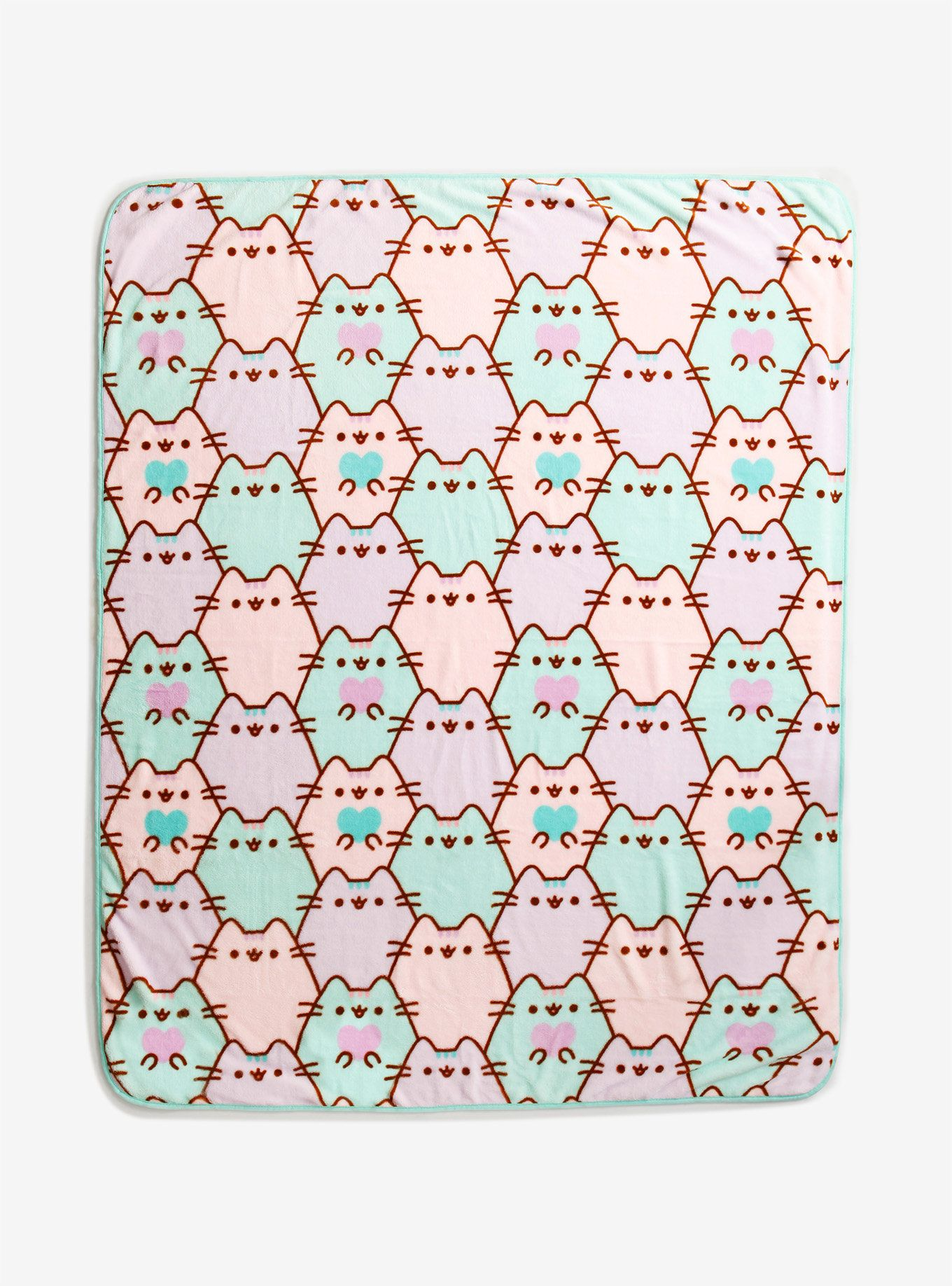 Pusheen Allover Print Throw Blanket Pusheen blanket