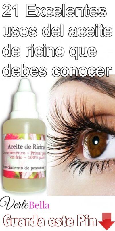 21 Excelentes Usos Del Aceite De Ricino Que Debes Conocer Beauty Hacks Beauty Skin Care