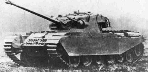 Cruiser Tank, Centurion (A41) • Tanks in World War 2. 20 Centurion ...