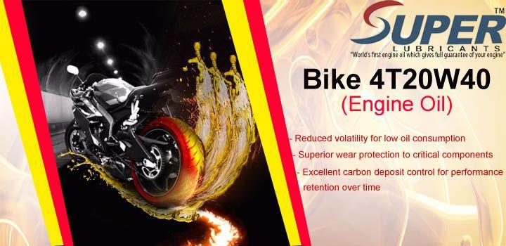 Bike 4t20w40 Engine Oil Lubricants