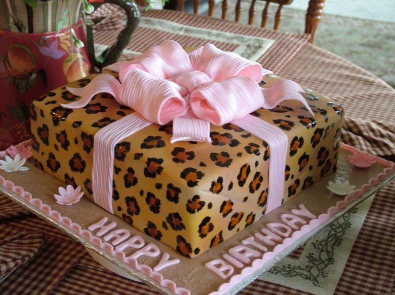Currently Being Inspired By Bridal Showers Leopards And Cake